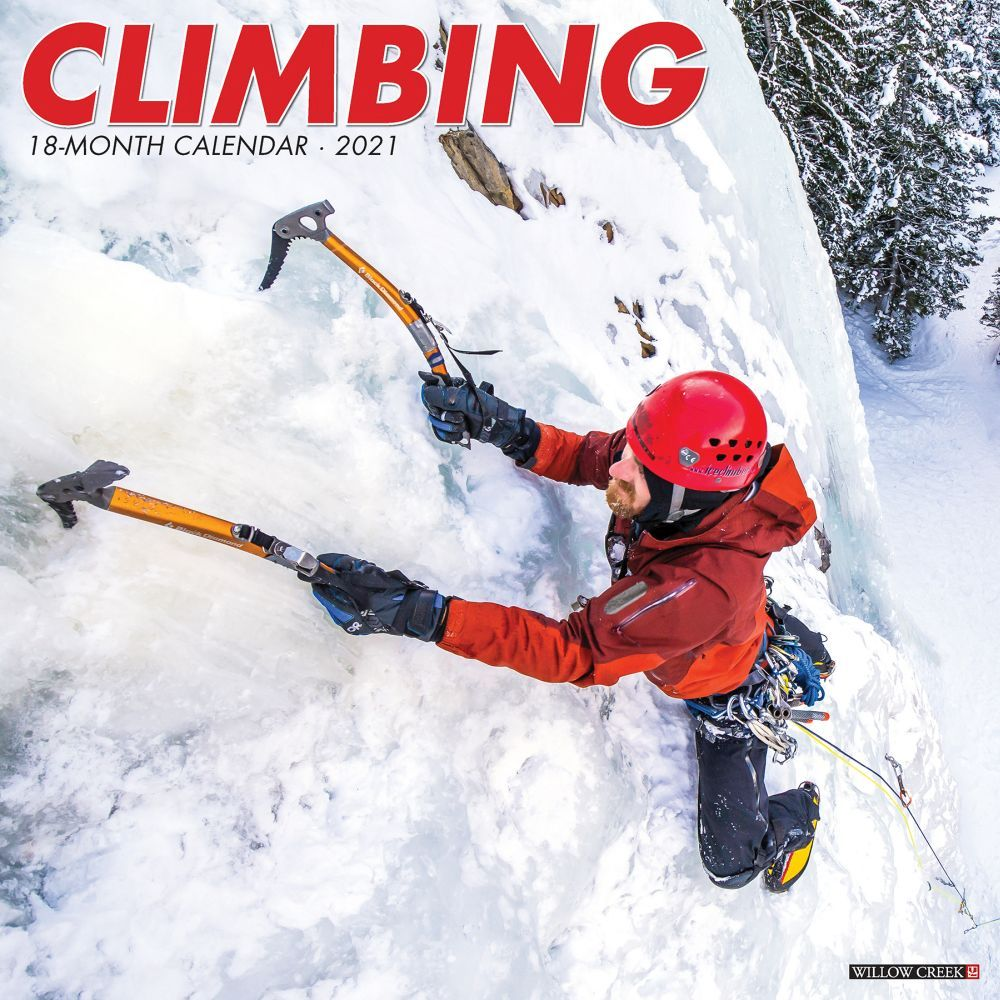 Rock Climbing 2021 Wall Calendar