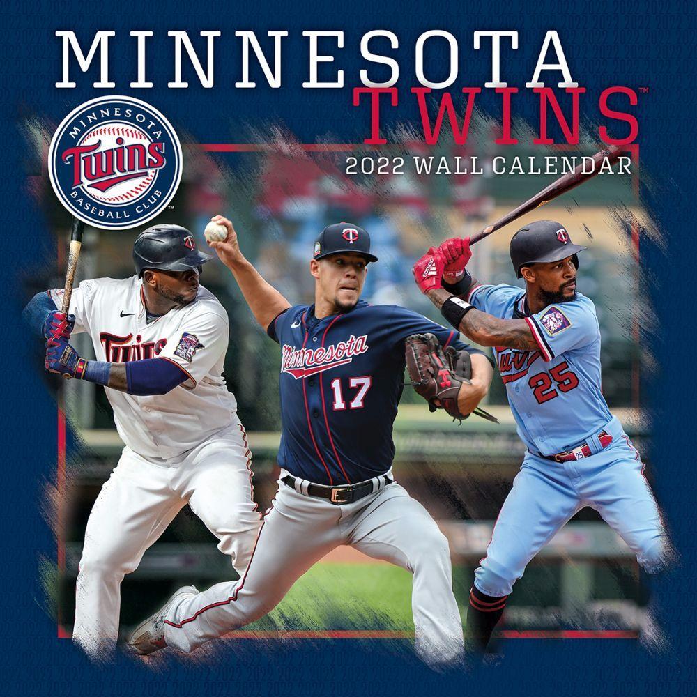 Minnesota Twins 2022 Wall Calendar