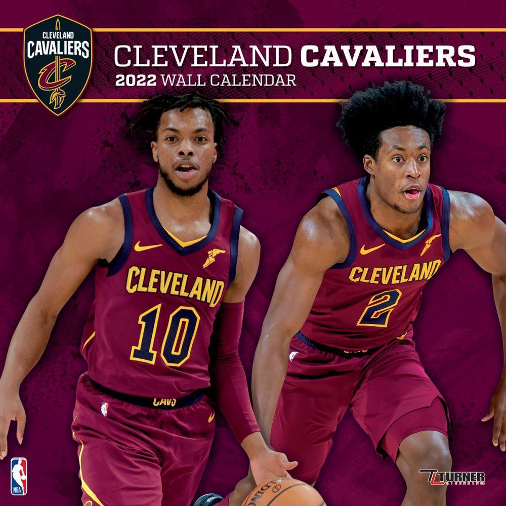 Cleveland Cavaliers 2022 Wall Calendar