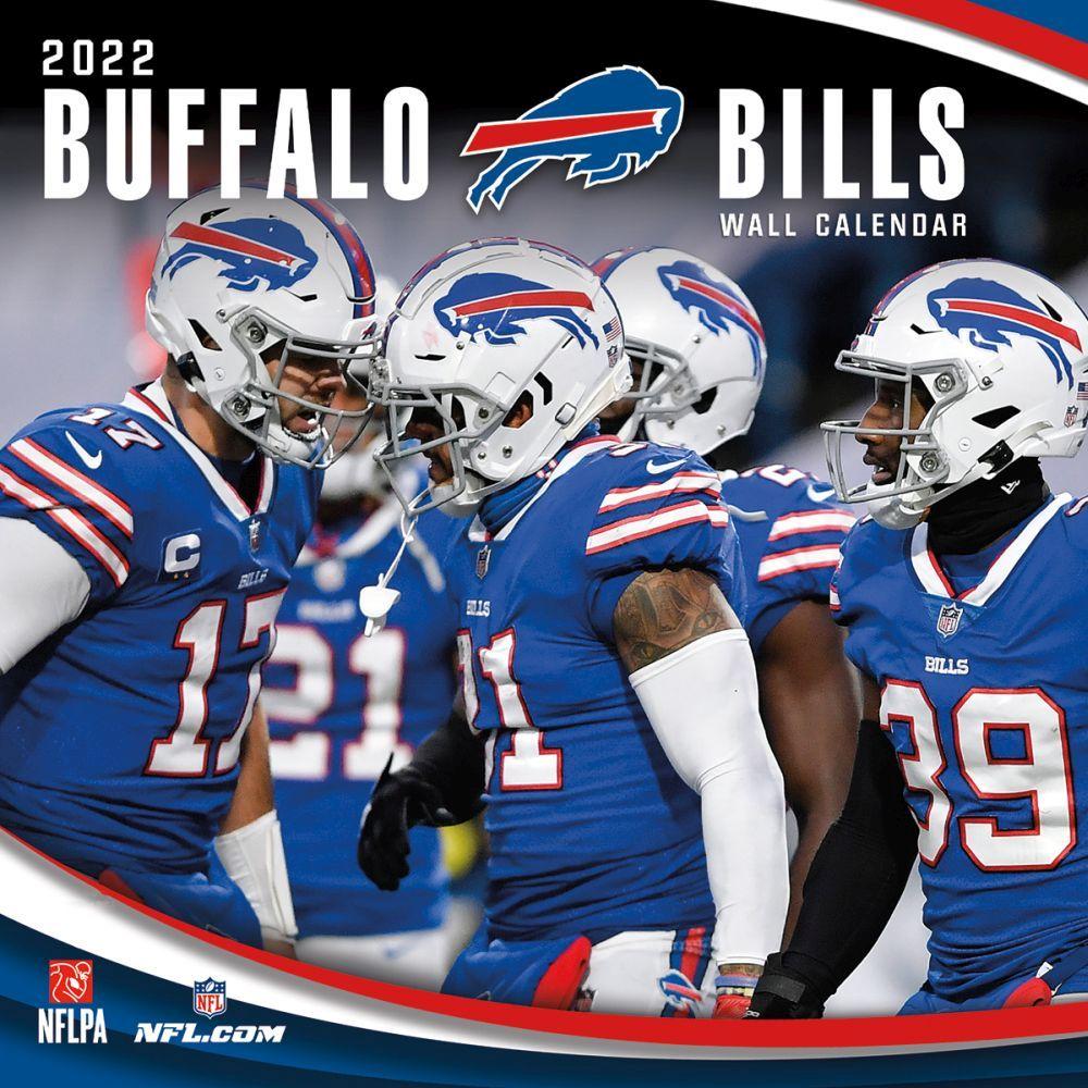 Buffalo Bills 2022 Wall Calendar