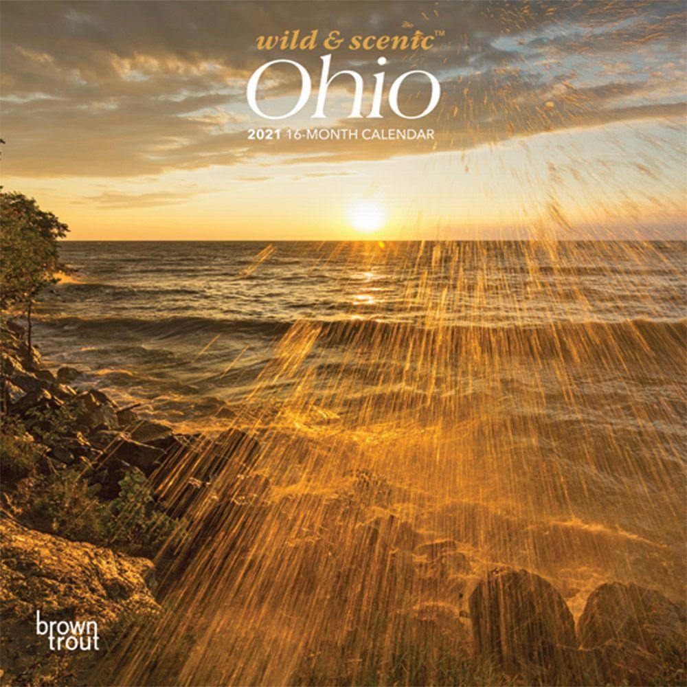 Ohio 2021 Mini Wall Calendar