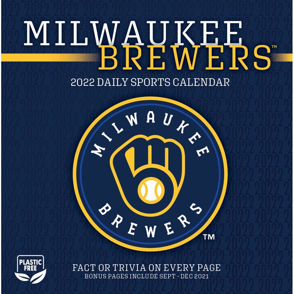 Milwaukee Brewers 2022 Desk Calendar