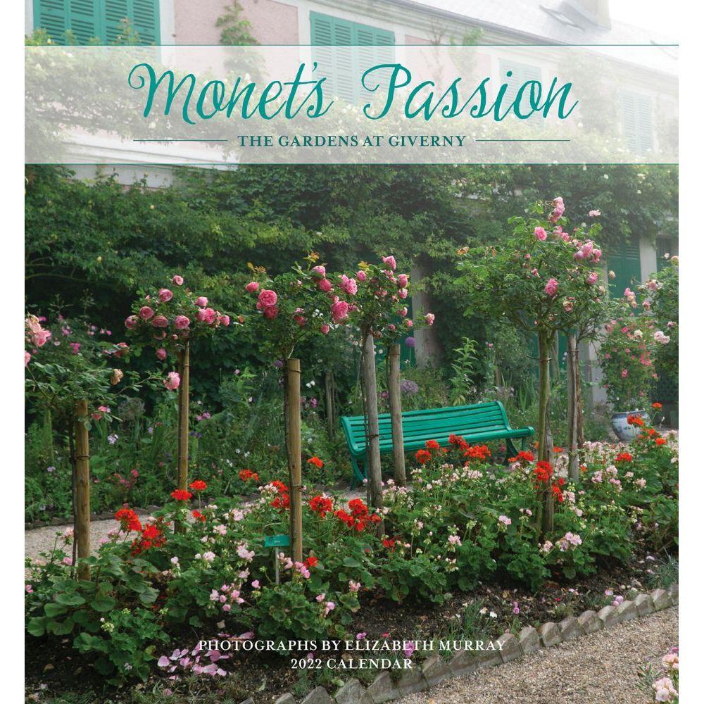 Monet's Passion 2022 Mini Wall Calendar