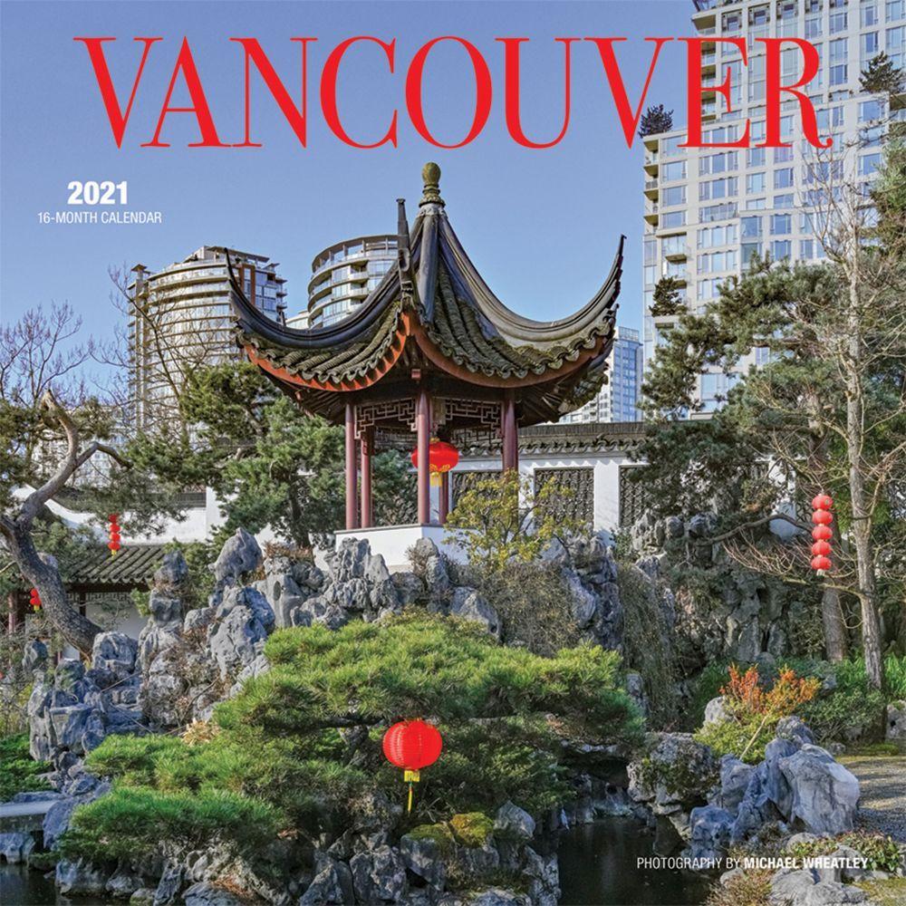 2021 Vancouver Wall Calendar