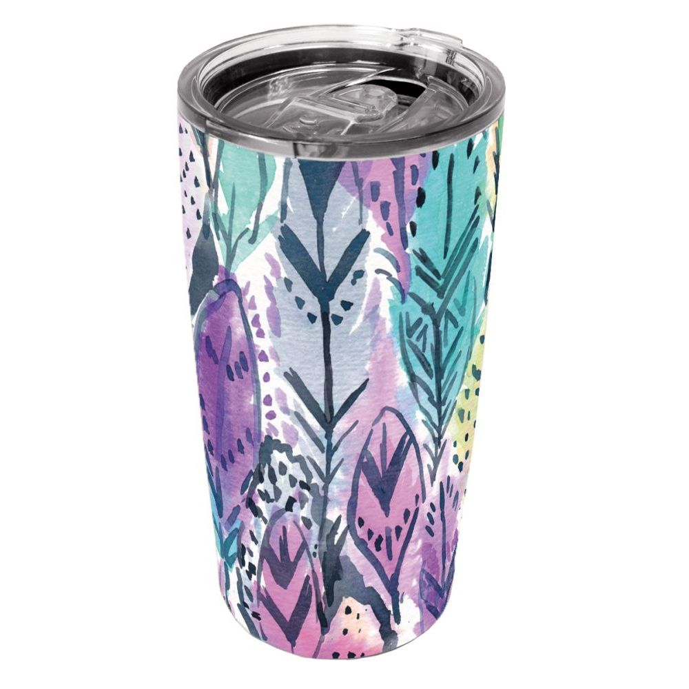 Barbarian-Radiant-Feathers-20-oz.-Stainless-Steel-Tumbler-1