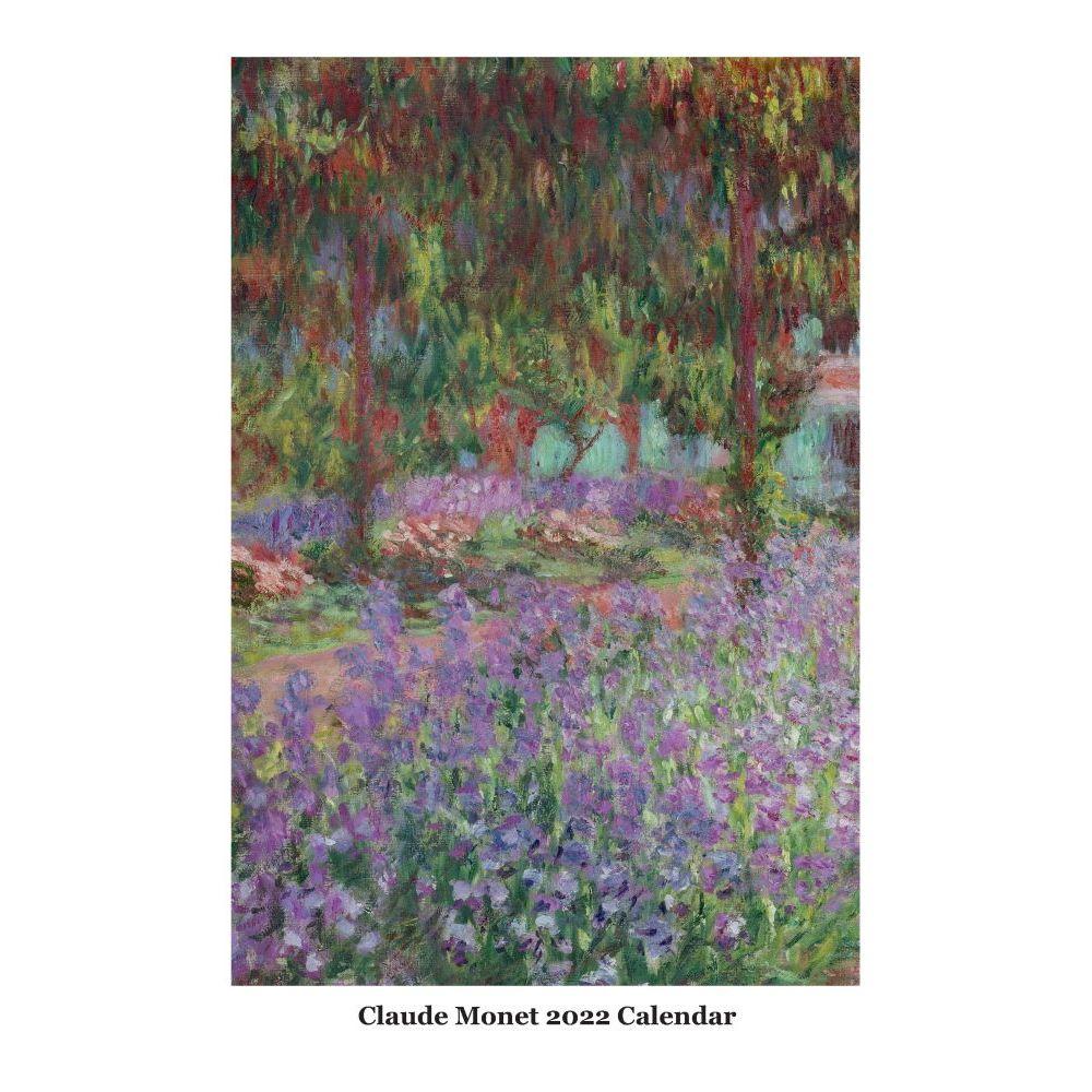 Claude Monet 2022 Poster Wall Calendar