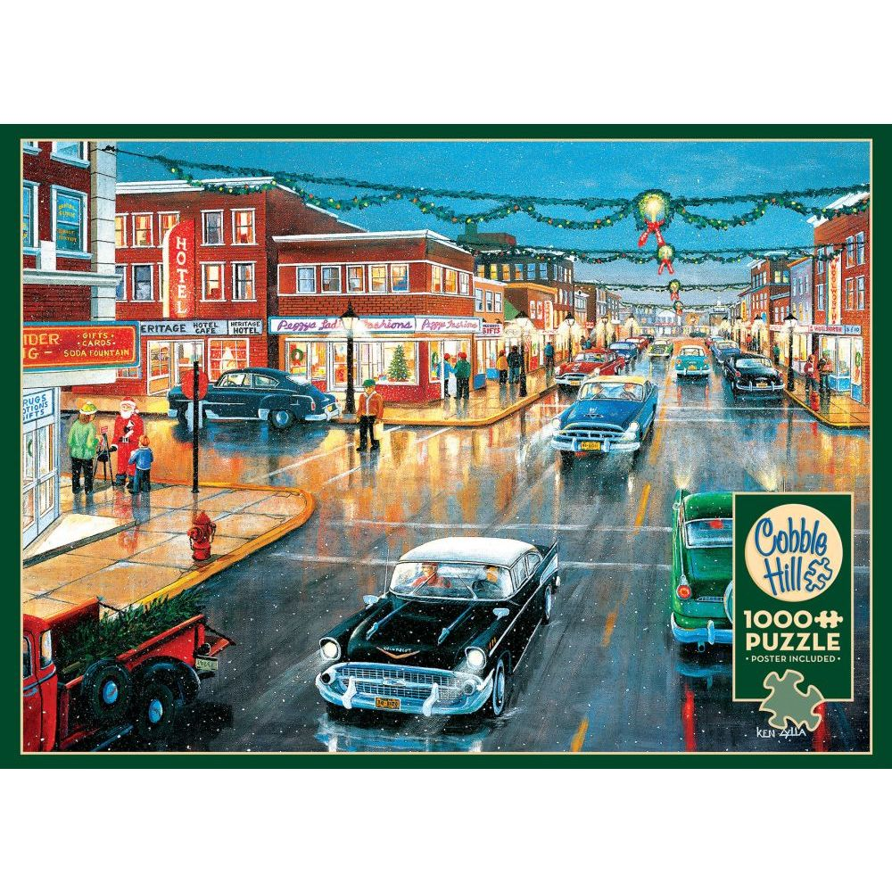 Best Main Street in Season 1000pc Puzzle You Can Buy