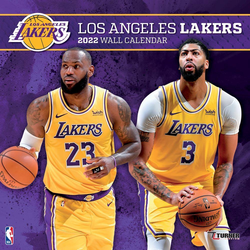 Los Angeles Lakers 2022 Wall Calendar