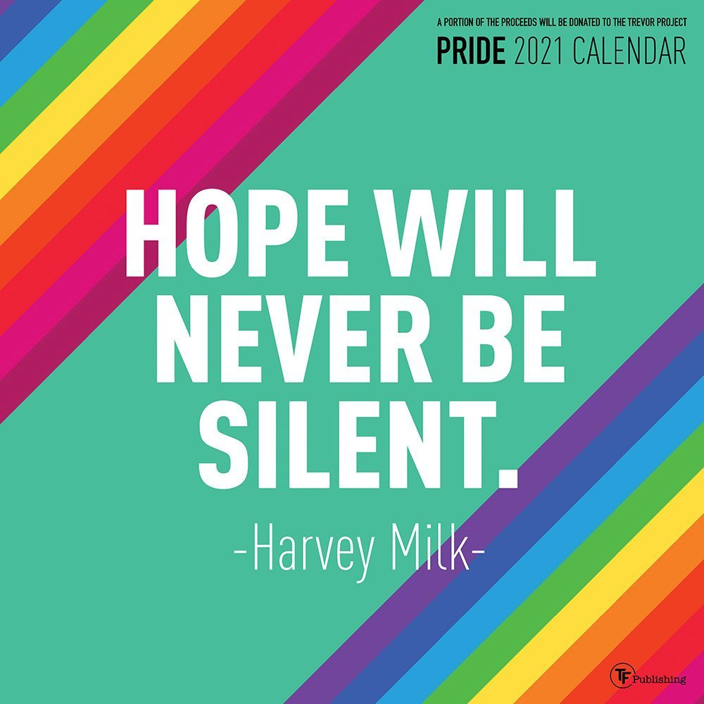 2021 Pride Wall Calendar