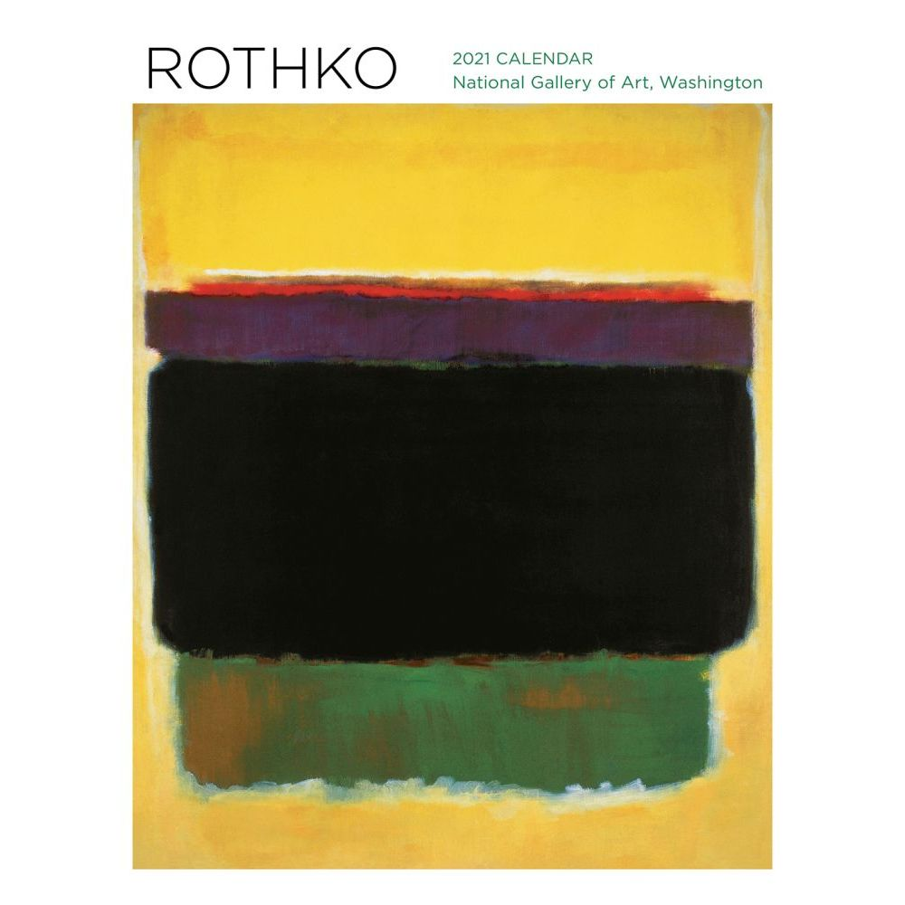 2021 Rothko Wall Calendar