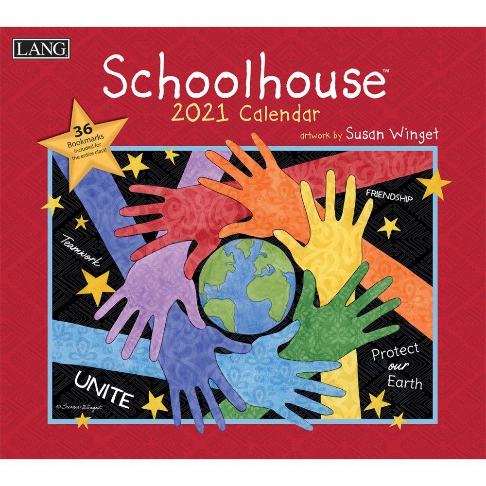 2021 Schoolhouse Wall Calendar by Susan Winget