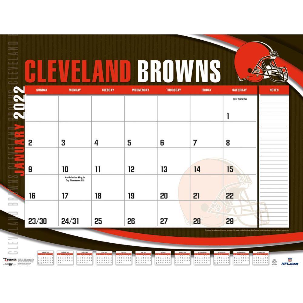 Cleveland Browns 2022 Desk Pad