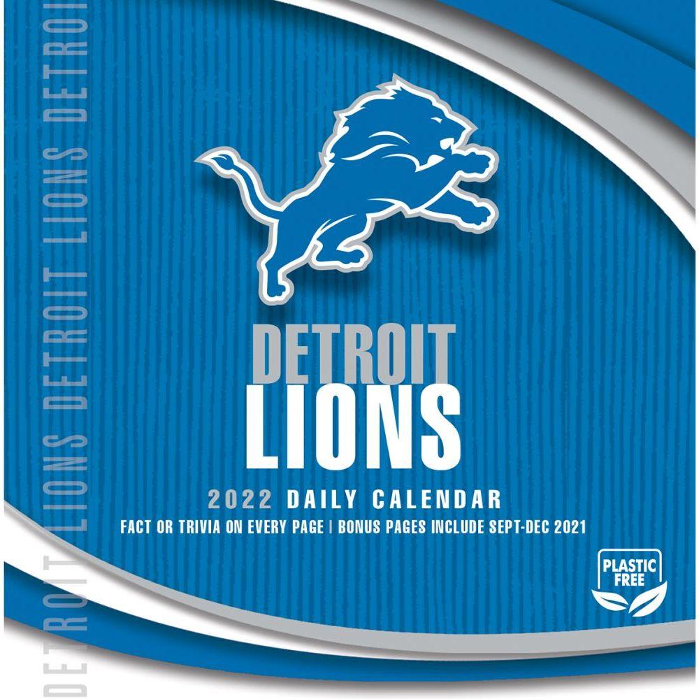 Detroit Lions 2022 Desk Calendar