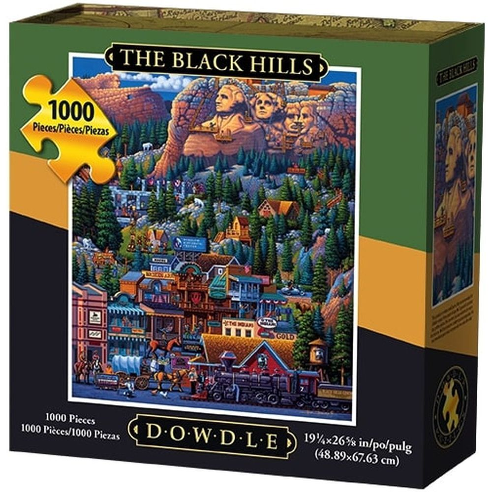 Best Black Hills 1000pc Puzzle You Can Buy