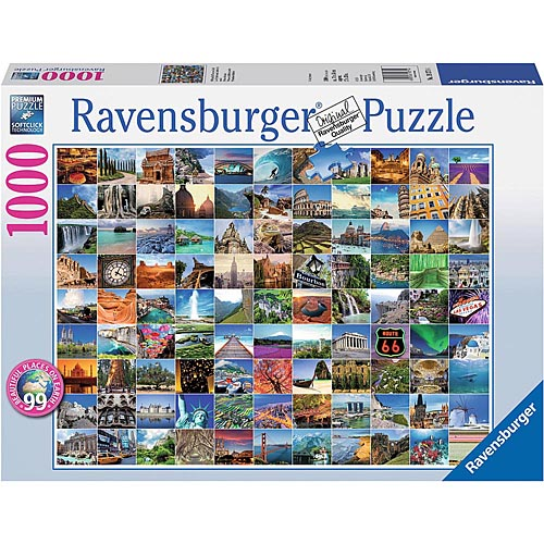 Best 99 Beautiful Places on Earth 1000 Piece Puzzle You Can Buy