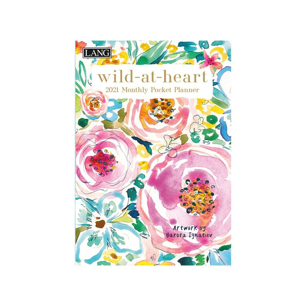 Wild At Heart Monthly Pocket Planner
