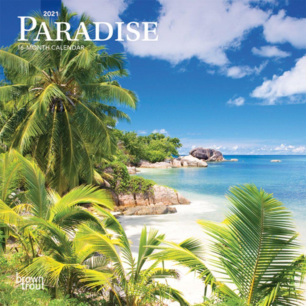 2021 Paradise Mini Calendar