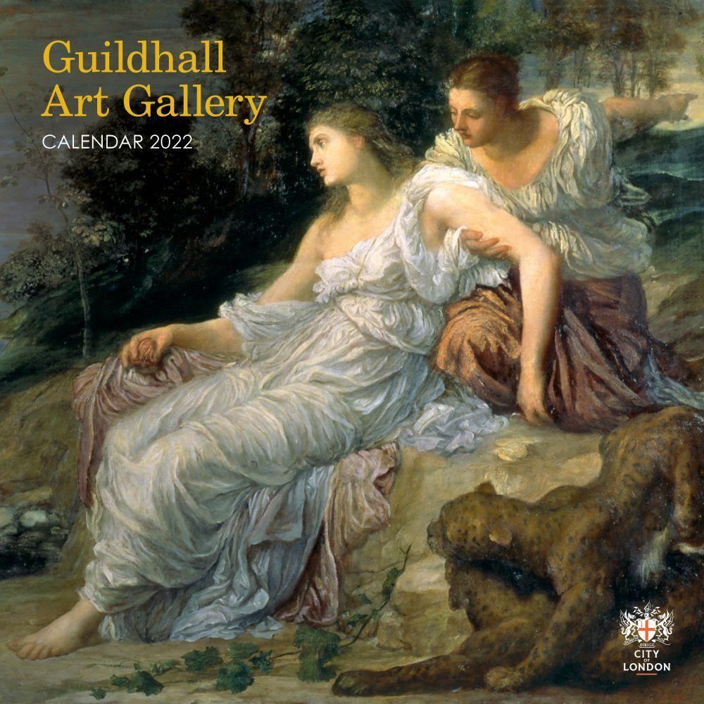 Guildhall Art Gallery 2022  Wall Calendar