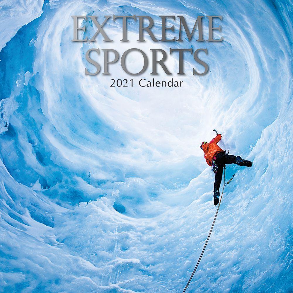 2021 Extreme Sports Wall Calendar