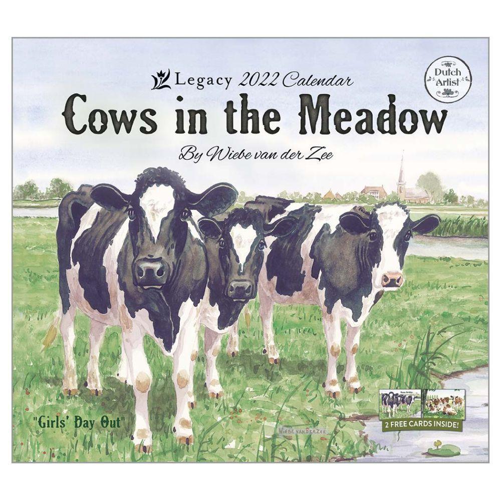 2022 Cow Calendar.Cows In The Meadow 2022 Wall Calendar Calendars Com