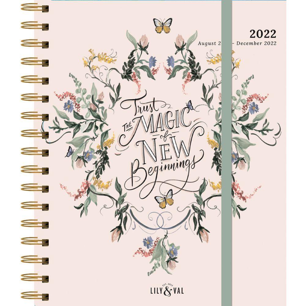 Just Breathe 2022 Agenda Planner