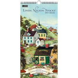 Linda Nelson Stocks Vertical Wall Calendar by Linda Nelson Stocks