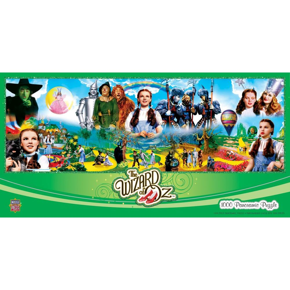 Best Wizard of Oz Panoramic 1000pc Puzzle You Can Buy