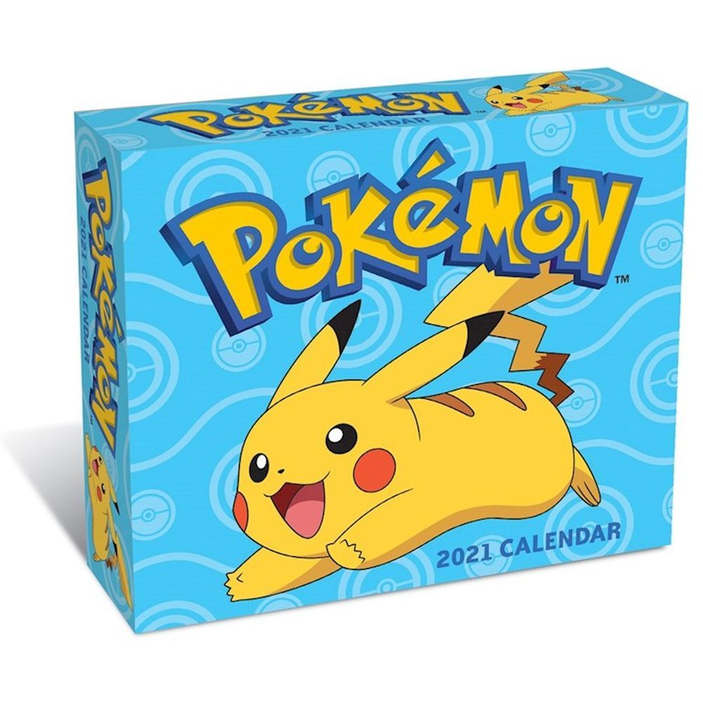 2021 Pokemon Desk Calendar