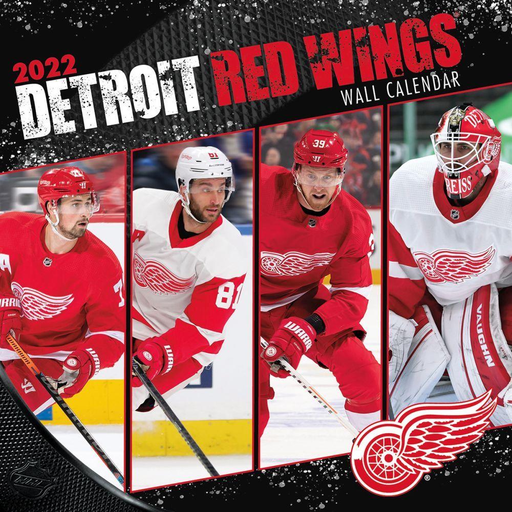 Detroit Red Wings 2022 Wall Calendar