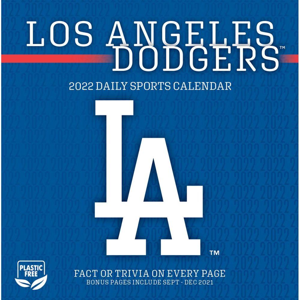 Los Angeles Dodgers 2022 Desk Calendar