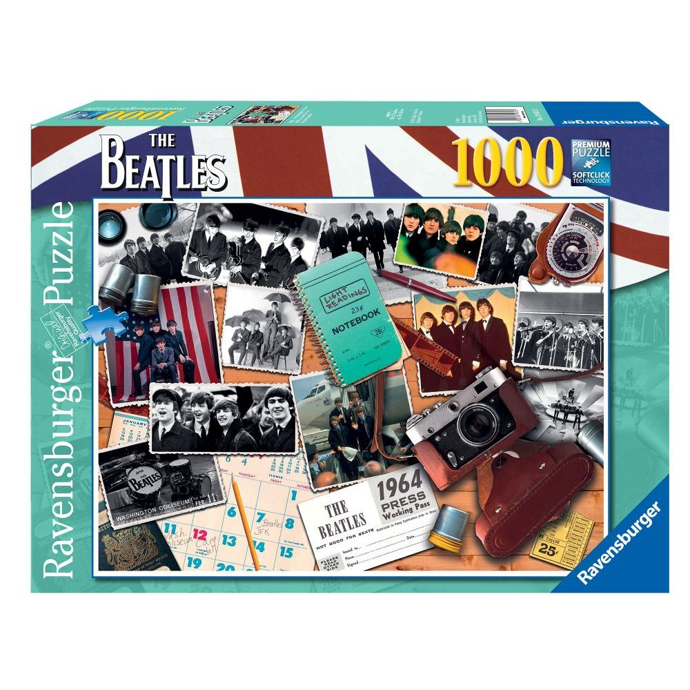 Best Beatles 1964 Photographers View 1000pc Puzzle You Can Buy