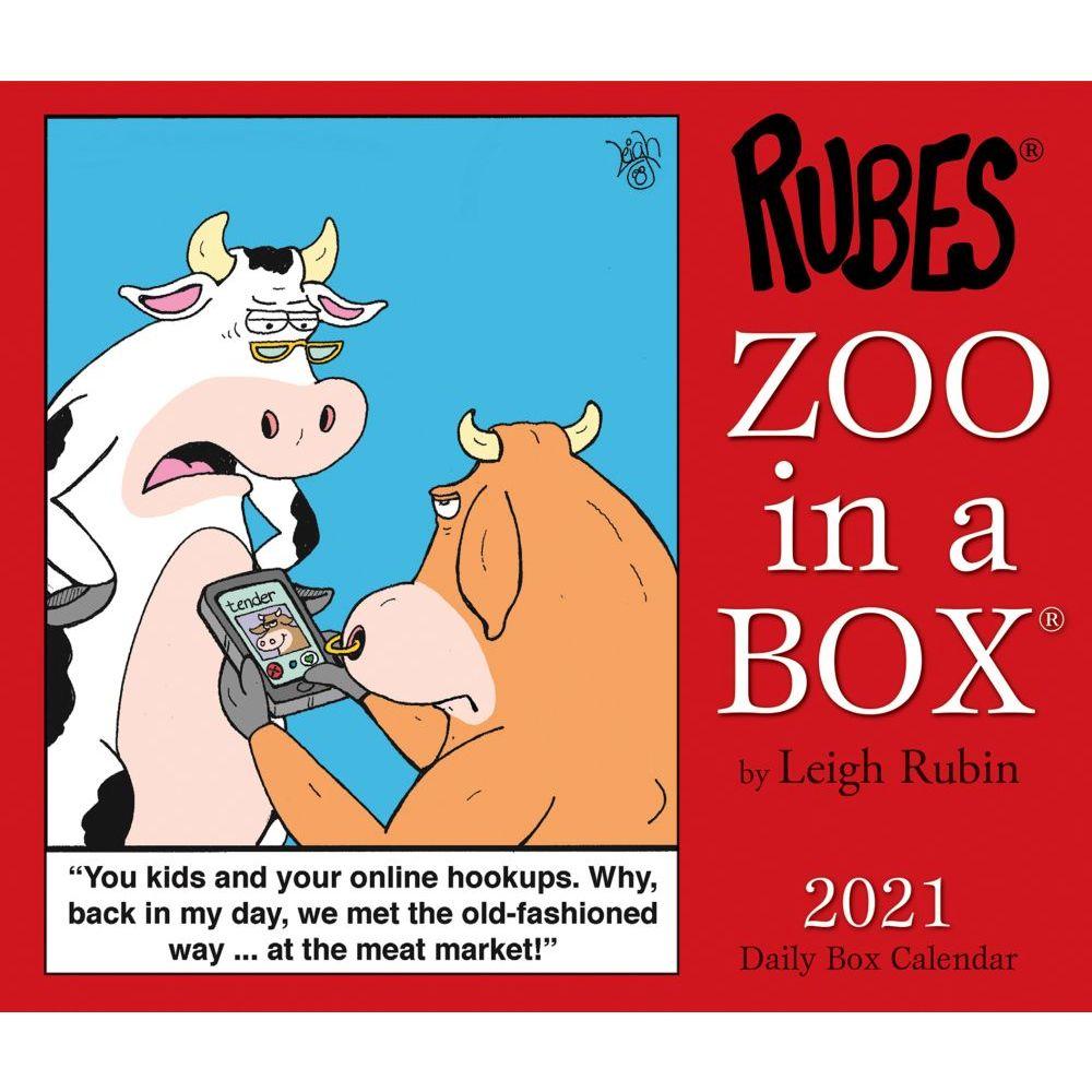 2021 Zoo In A Box Desk Calendar