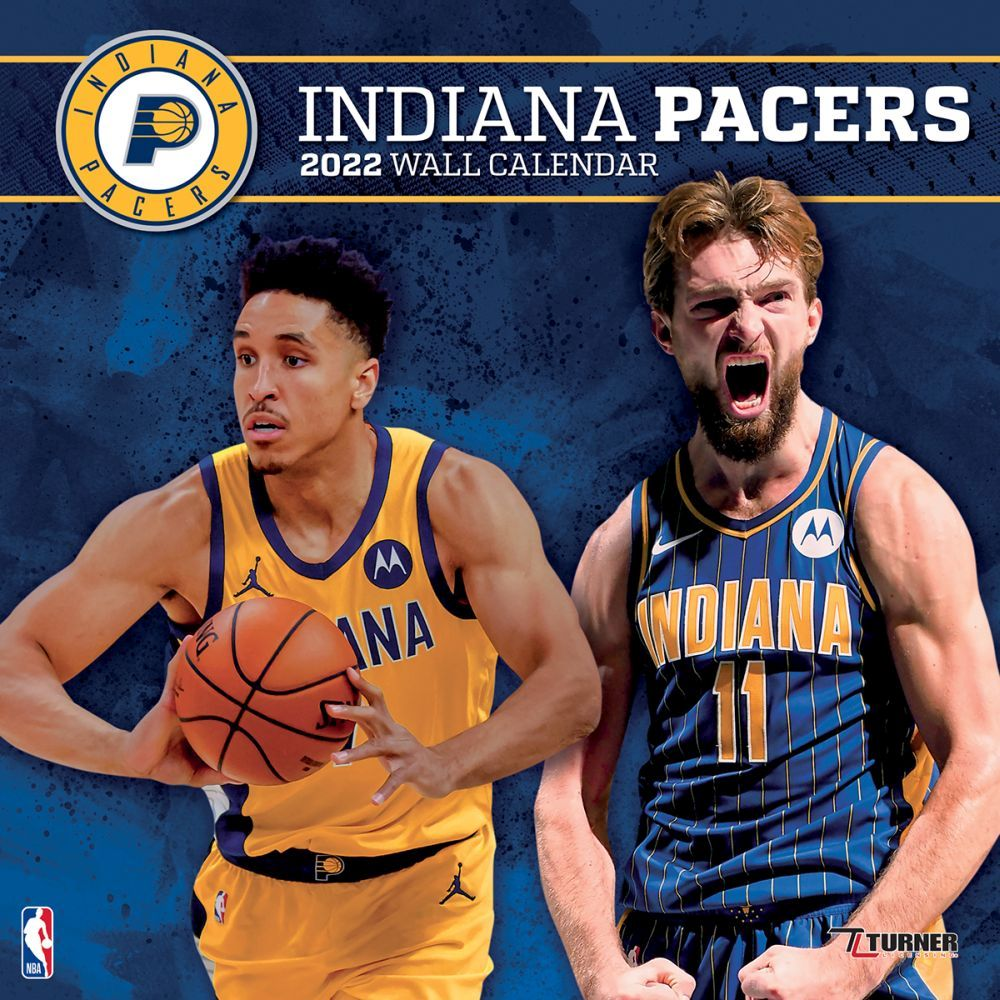 Indiana Pacers 2022 Wall Calendar
