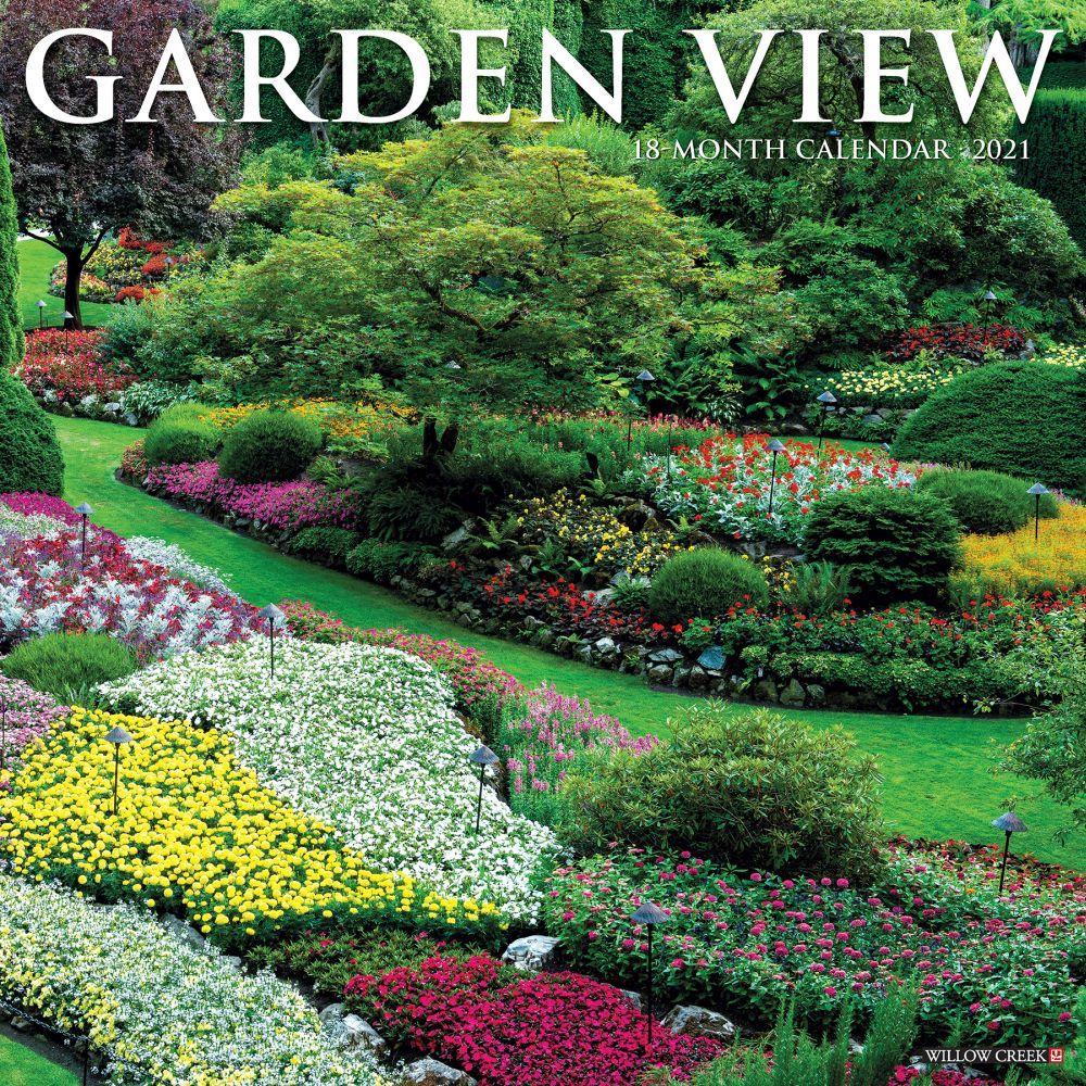 2021 Garden View Wall Calendar