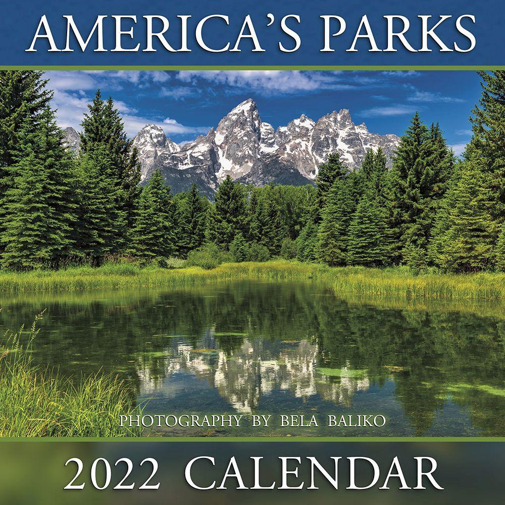 Americas Parks 2022 Wall Calendar
