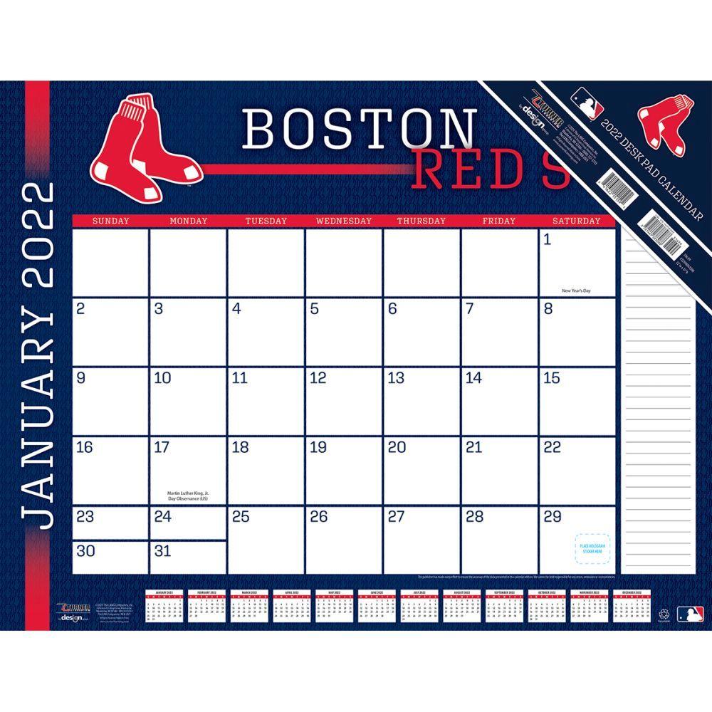 Boston Red Sox 2022 Desk Pad