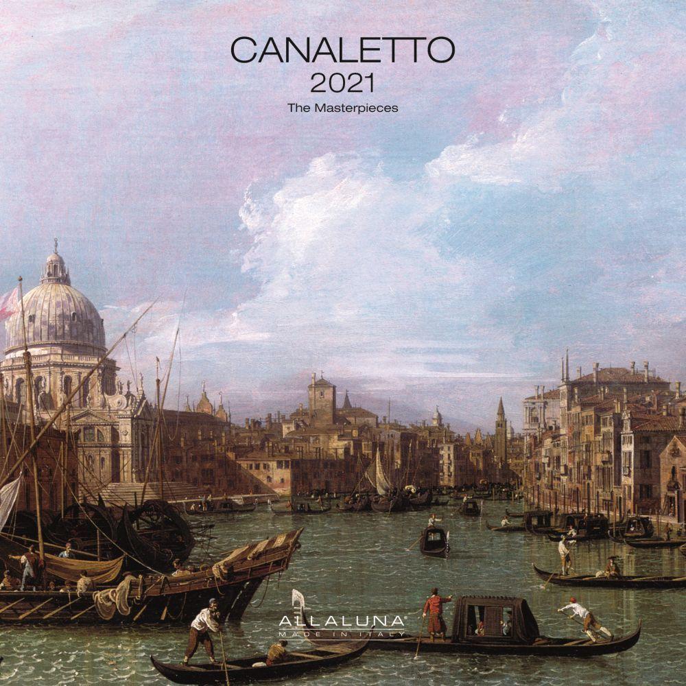 2021 Canaletto Alla Luna Wall Calendar
