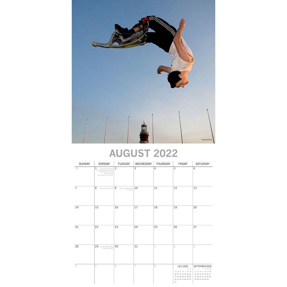 Extreme Sports 2022 Wall Calendar