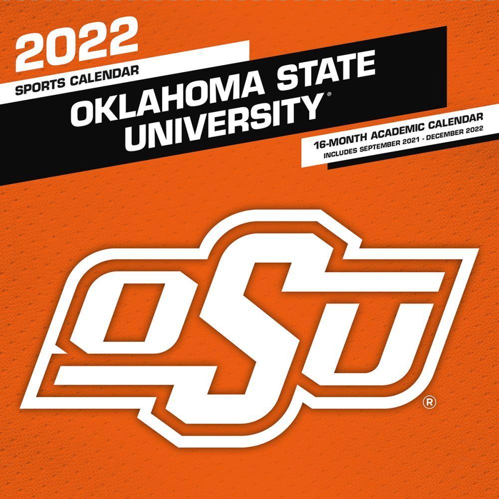 Oklahoma State University 2022 Wall Calendar