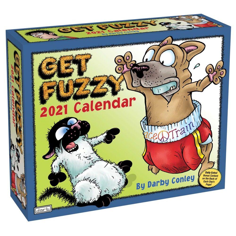 2021 Get Fuzzy Desk Calendar