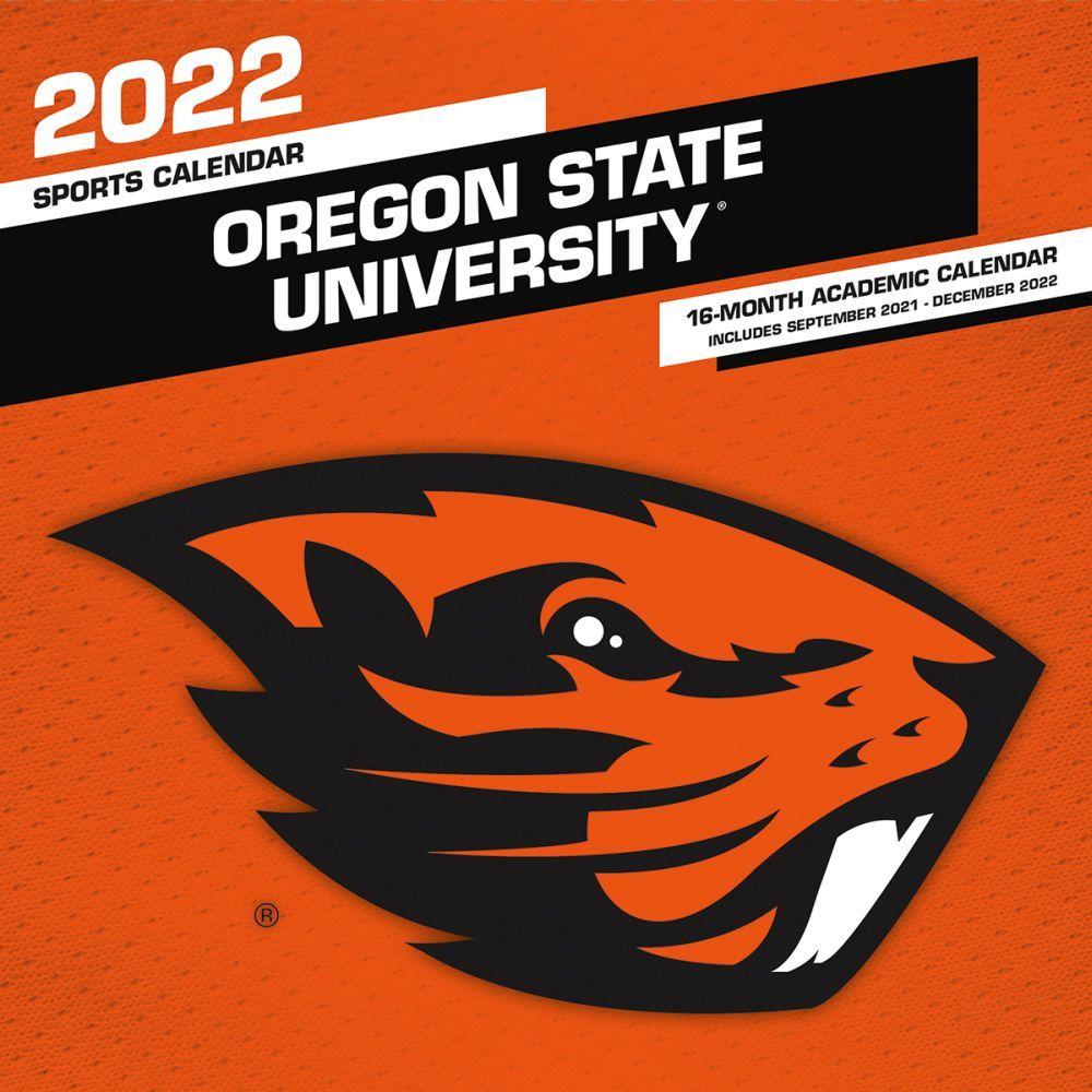 Oregon State University 2022 Wall Calendar