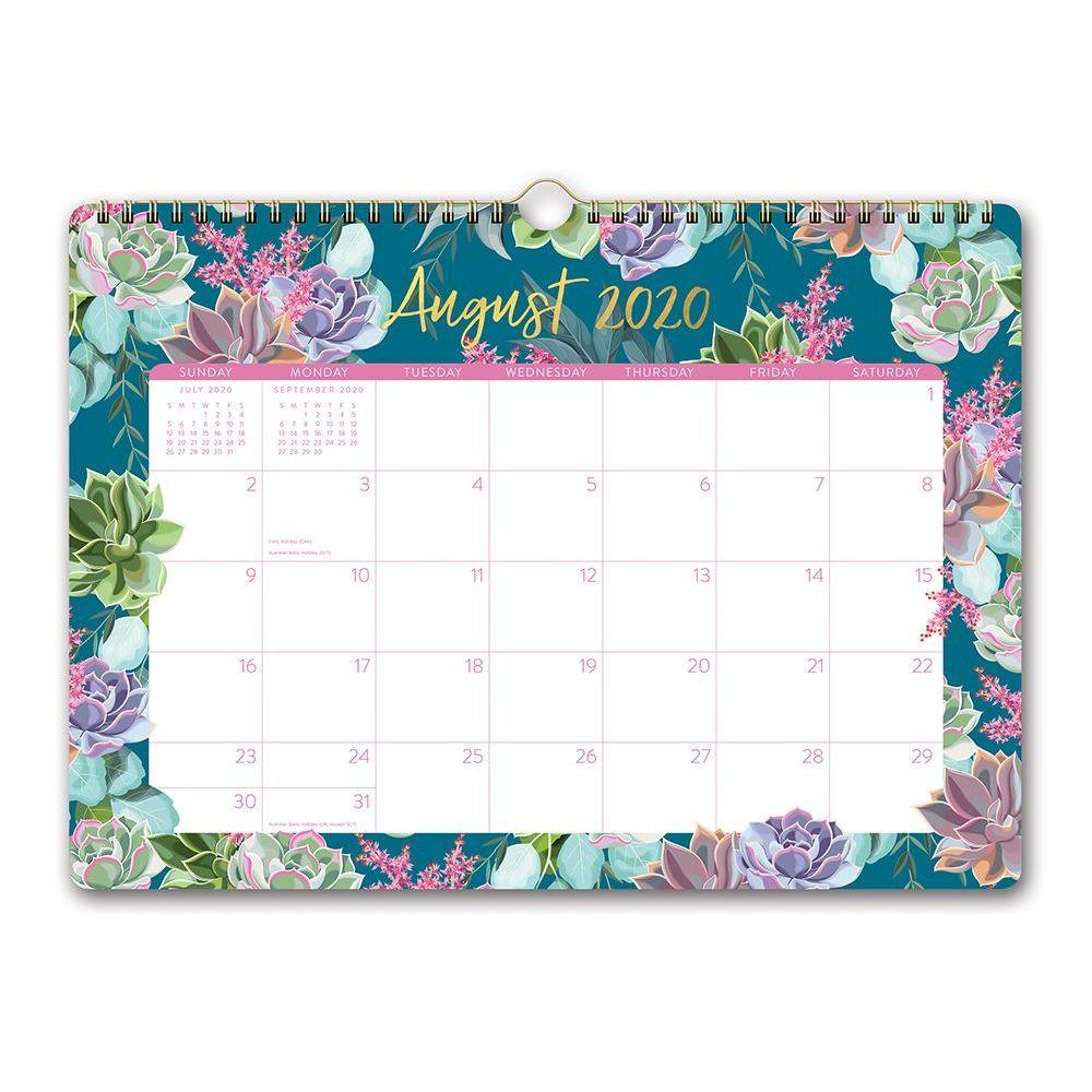 2021 Succulent Garden Deluxe Wall Calendar