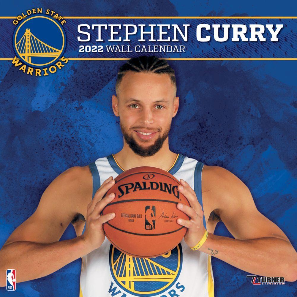 Golden State Warriors Stephen Curry 2022 Wall Calendar