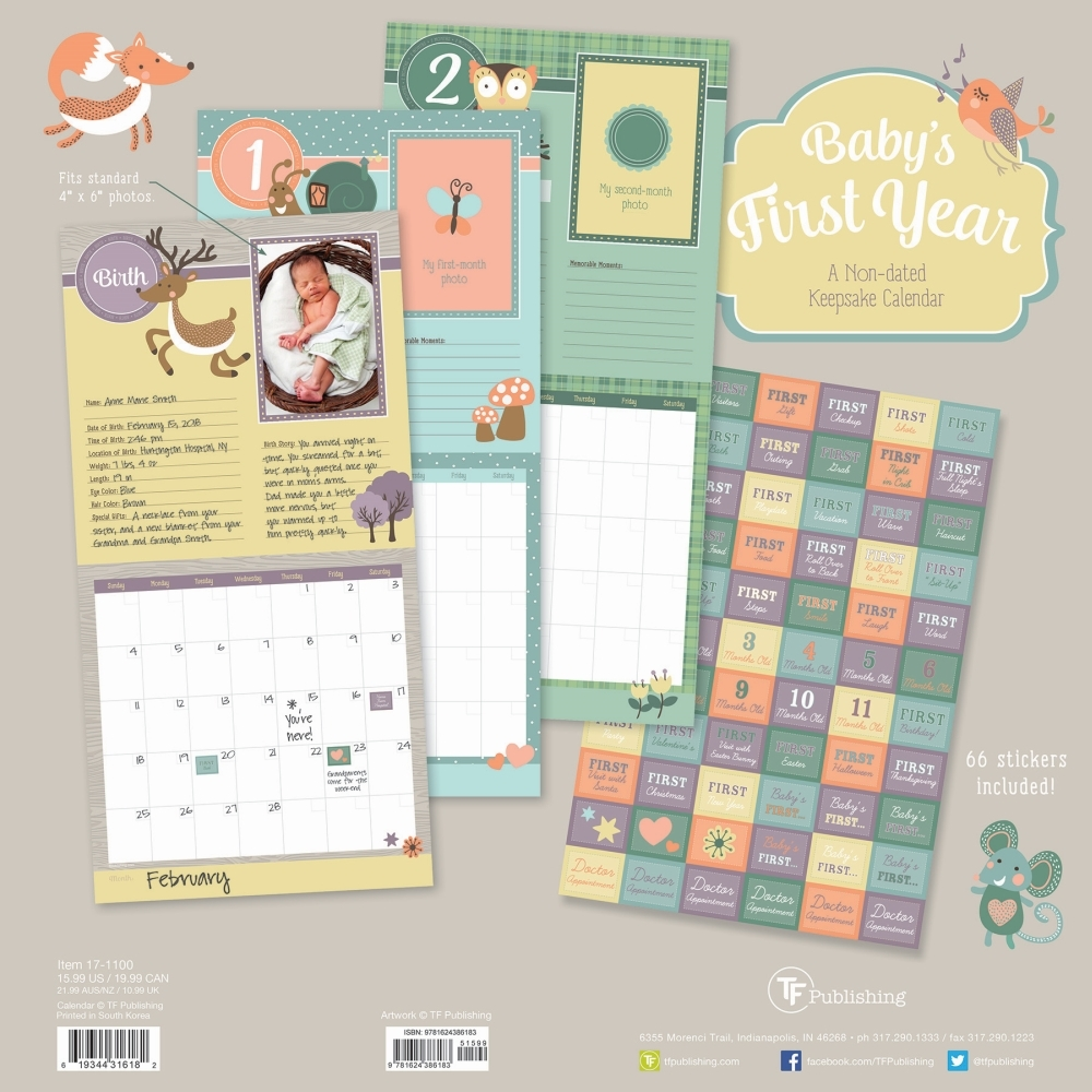 Babys-First-year-Woodland-Nondated-Calendar-2