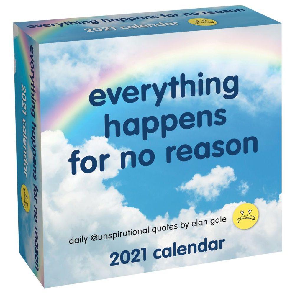 2021 Unspirational Desk Calendar