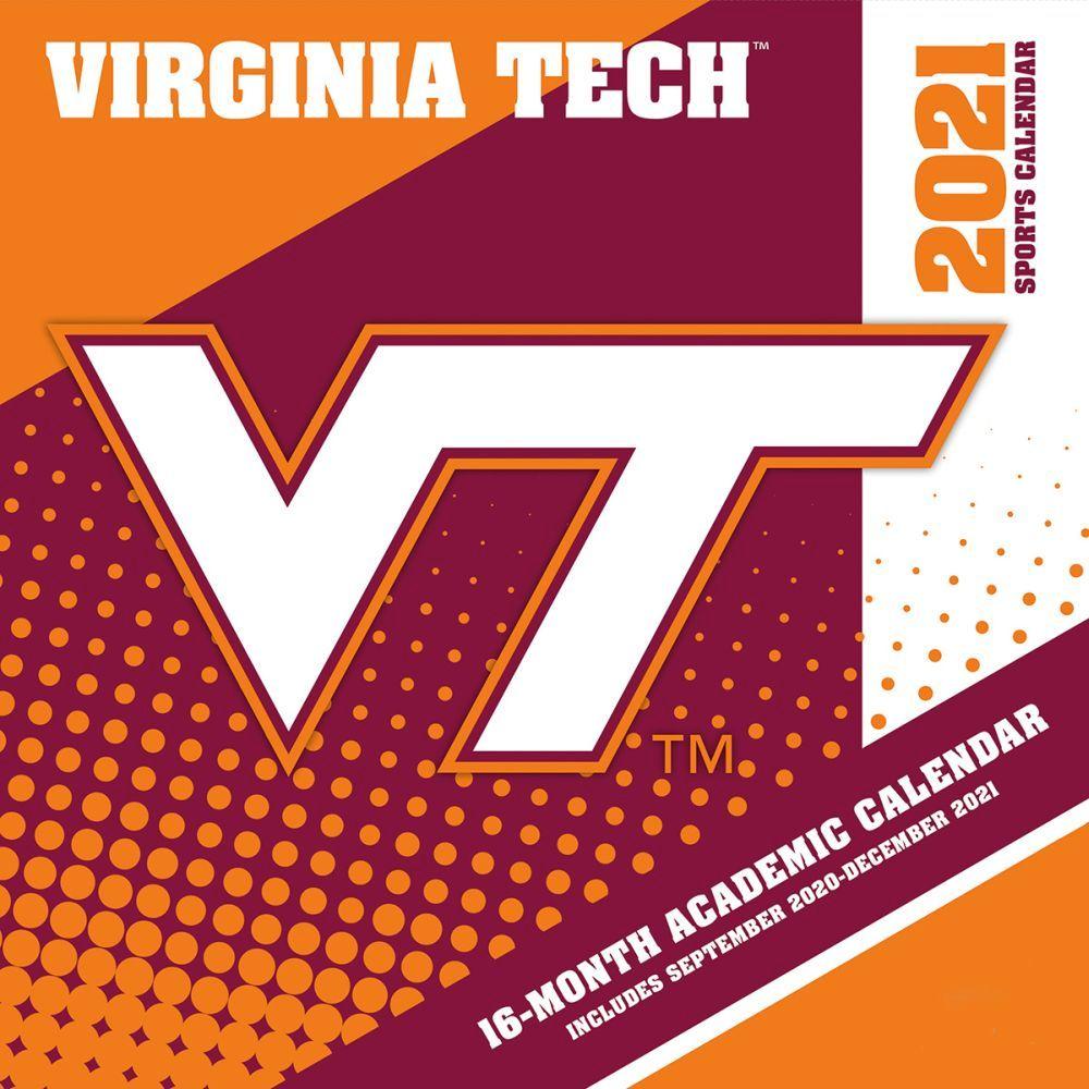 Virginia Tech Hokies 2021 Wall Calendar