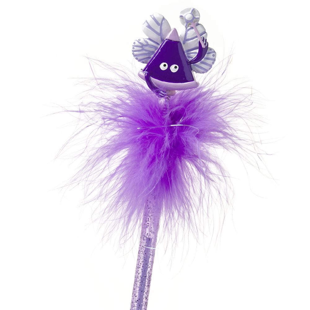 Ooloo Purple Feather Pen Fairy