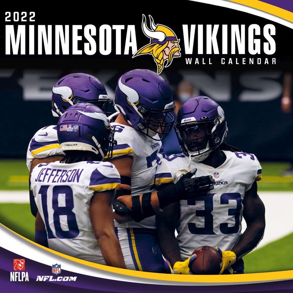 Minnesota Vikings 2022 Wall Calendar