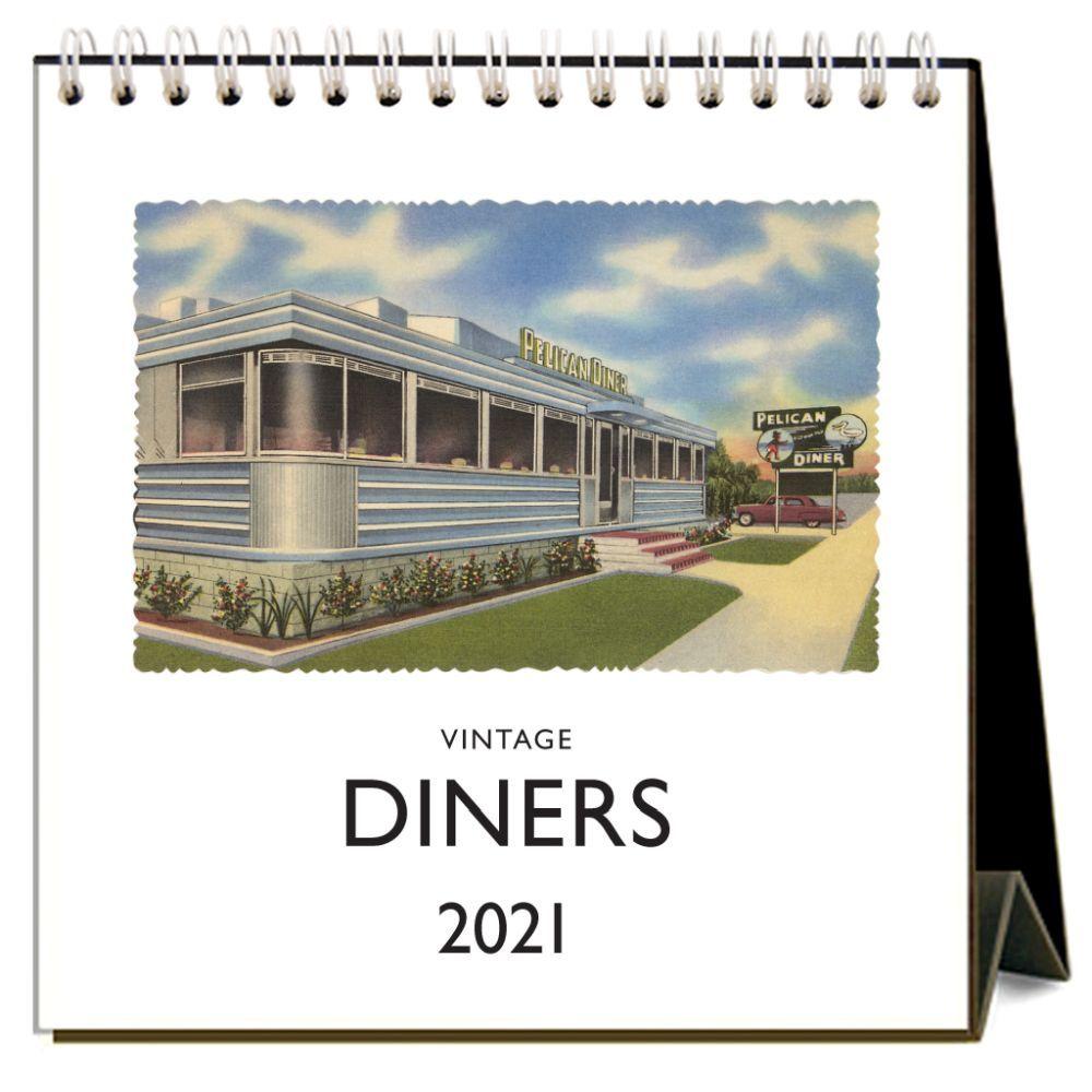 2021 Diners Easel Calendar