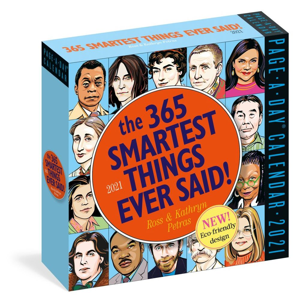 2021 365 Smartest Things Ever Said Desk Calendar